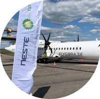 Aviation industry players collaborate on first regional aviation 'Perfect Flight' in Sweden