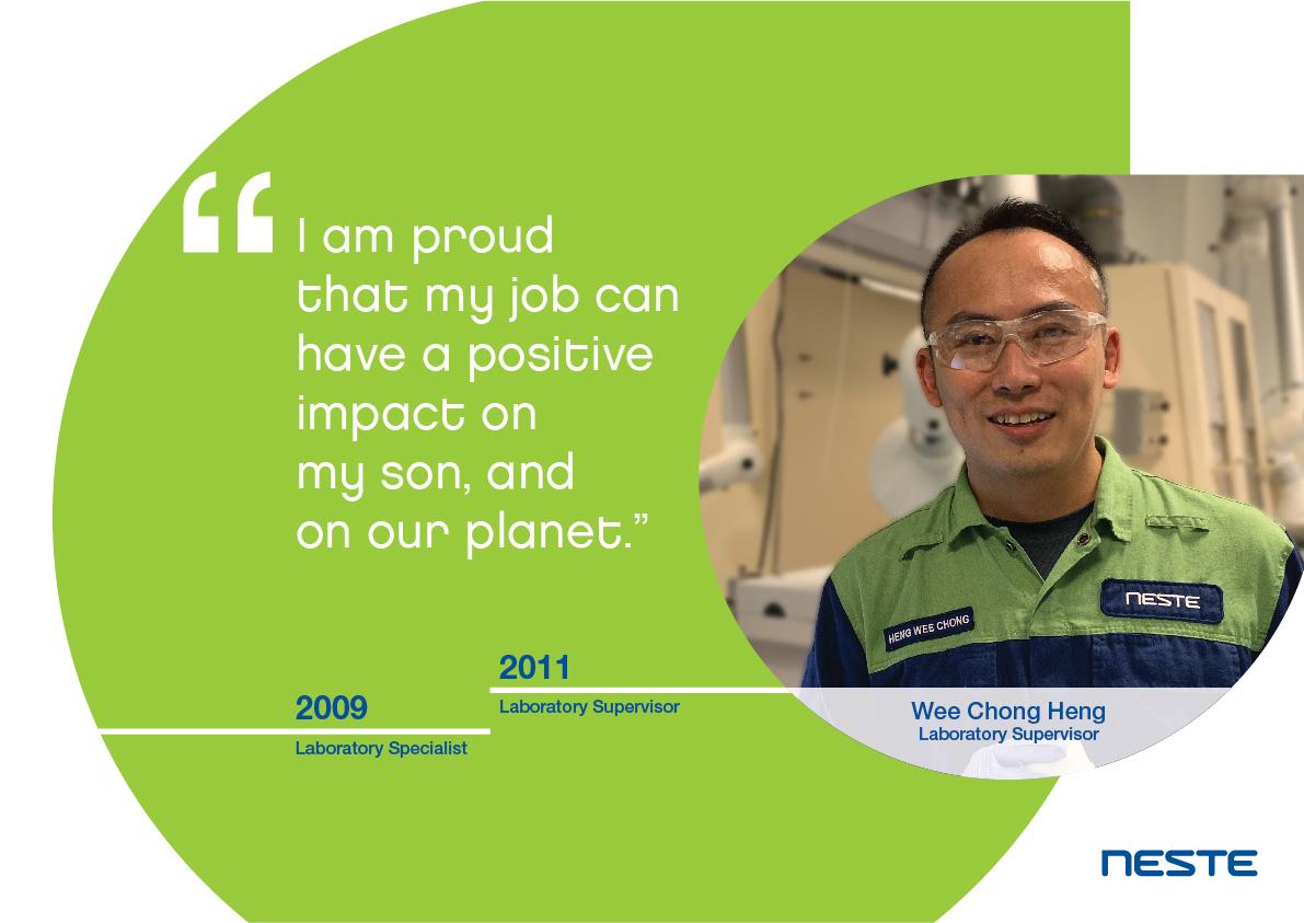 Ten years long service testimonials - Heng