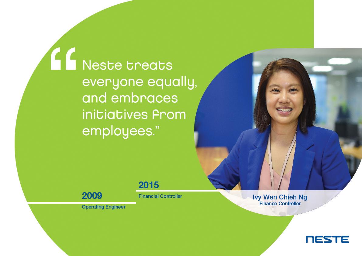 Ten years long service testimonials - Ivy Wen Chieh Ng