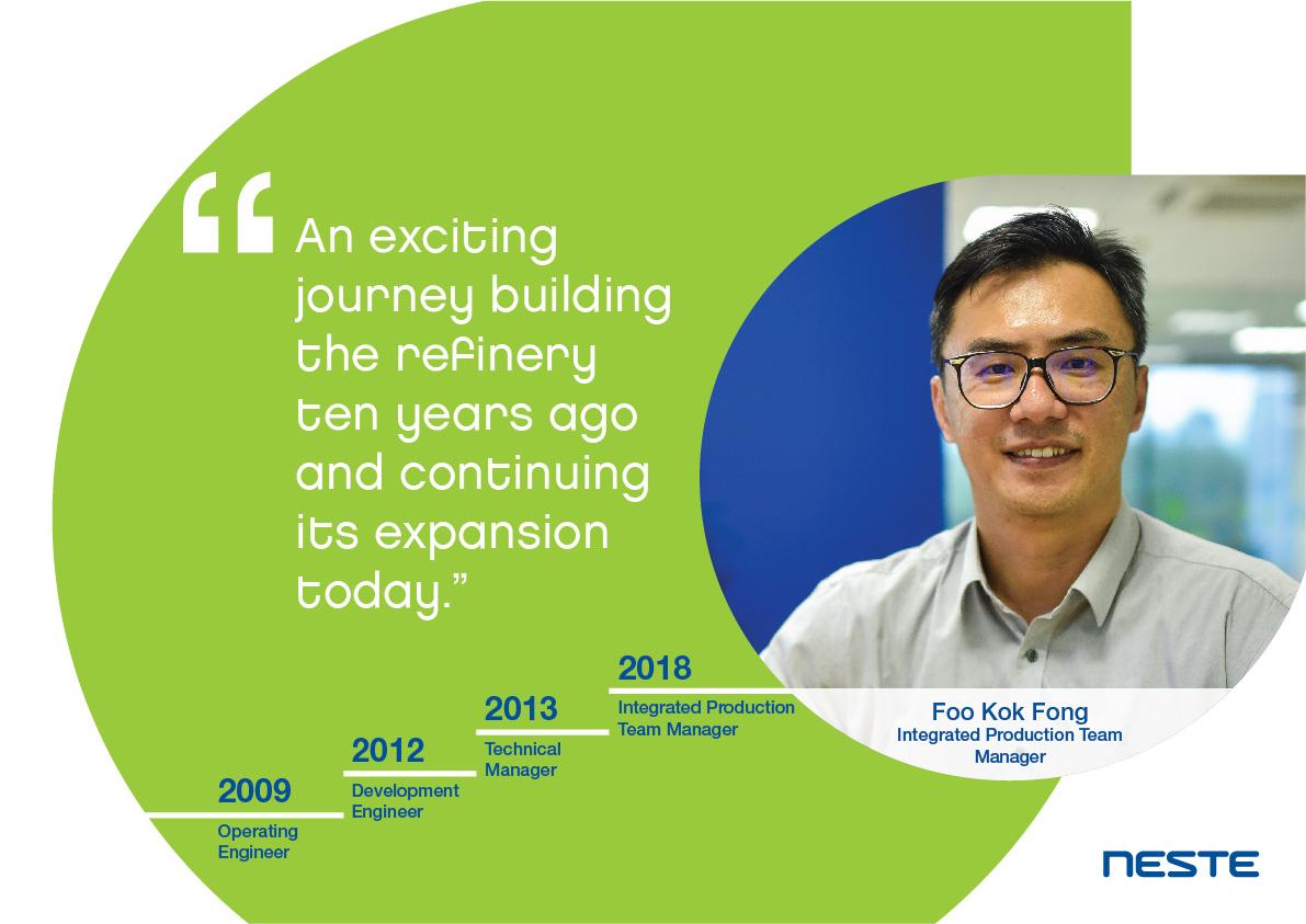 Ten years long service testimonials - Kok Fong