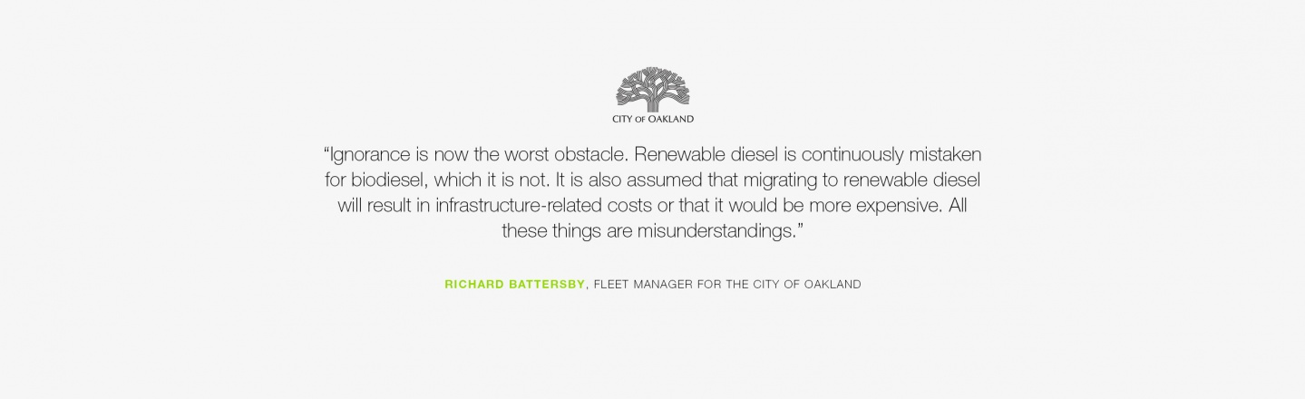 Ignorance is now the worst obstacle. Renewable diesel is continuously mistaken for biodiesel, which it is not. It is also assumed that migrating to renewable diesel will result in infrastructure-related costs or that it would be more expensive.