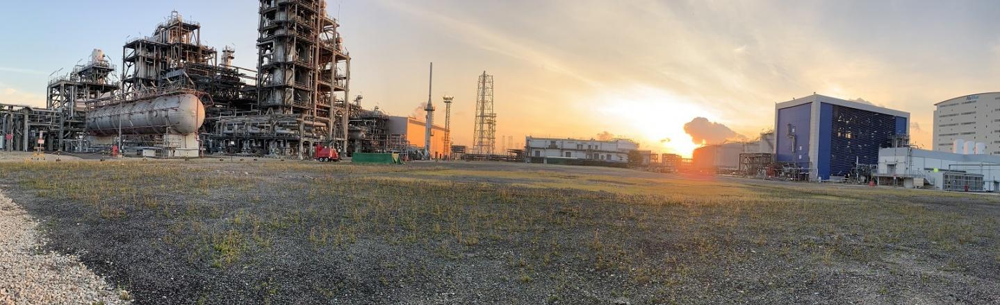 Neste Singapore Refinery - Panel view
