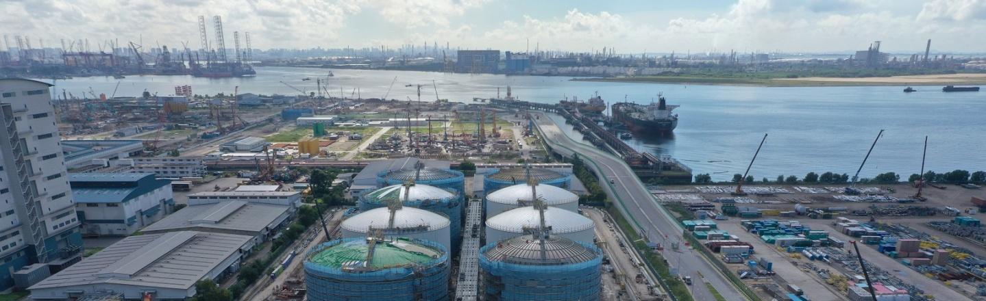 Neste Singapore Expansion Project_south area