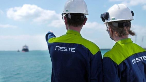 Neste' Singapore refinery produces renewable products