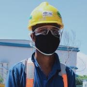 Migrant worker's testimony regarding mask distribution