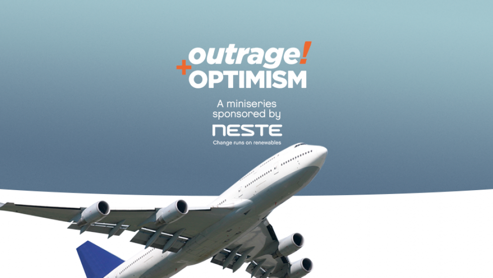 Outrage and Optimism miniseries on the Future of Transport sponsored by Neste