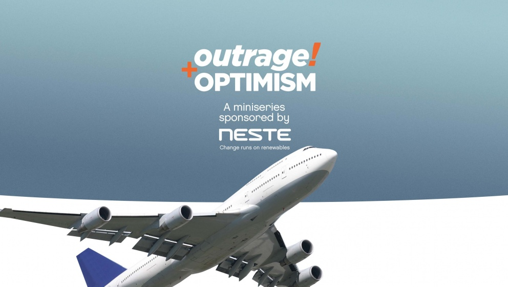 Outrage and Optimism miniseries sponsored by Neste